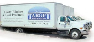 Target Windows and Doors Delivery Trucks