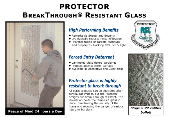Elegant Door Glass Protector